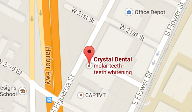 Crystal Dental Centers Office in Los Angeles