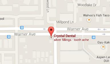 Crystal Dental Centers Office in Santa Ana