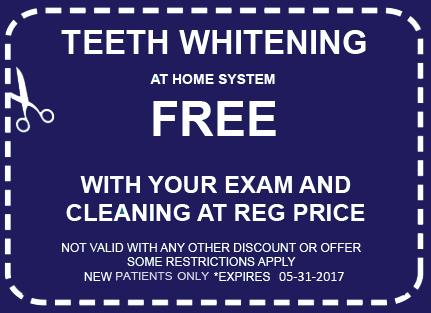 Free Teeth Whitening Coupon