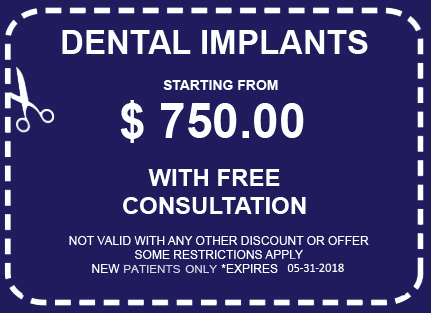 Free Dental Implants Coupon Los Angeles